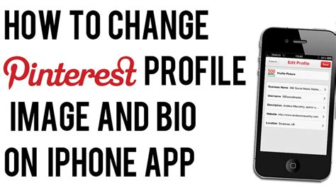 how to edit iphone how to change profile photo or bio on iphone