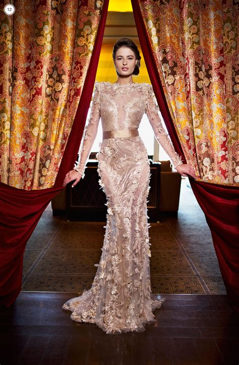 ziad nakad haute couture winter  fashionsycom