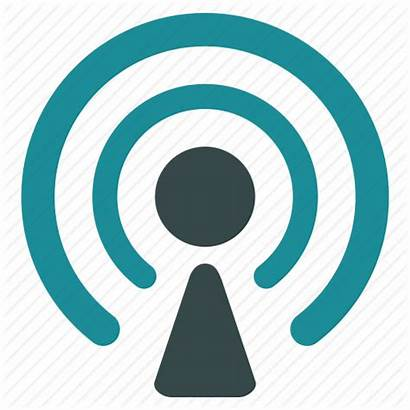 Broadcast Icon Radio Icons Tower Library Communications