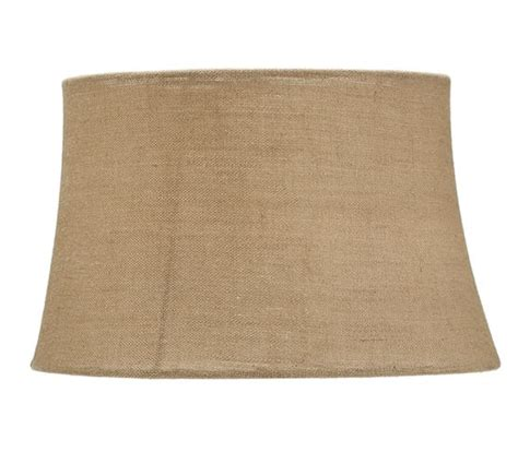 pottery barn burlap l shade burlap upholstered tapered drum l shade pottery barn