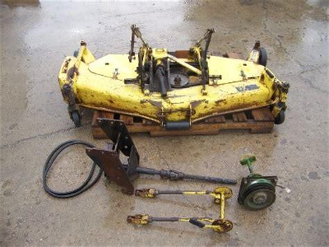 deere mower decks used deere 750 tractor original used 60 quot mid mount mower