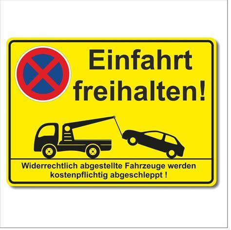 schild einfahrt freihalten schild einfahrt freihalten parkverbot halteverbot parken verboten 300 x 213 mm ebay