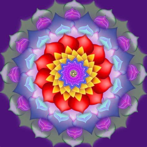 color meditation mandalas
