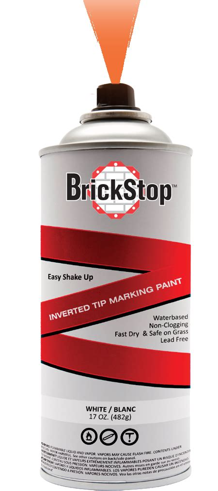 marking paint brickstop