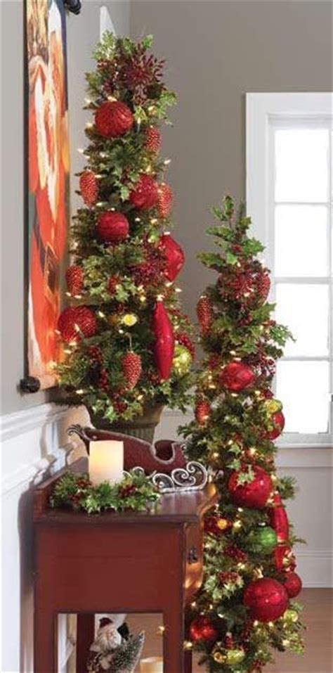 shelley  decor    flat prelit christmas trees