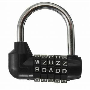253939 5 letter combination travel luggage suitcase lock With lock with letter combination