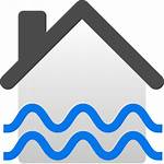 Icon Flooded Svg Flood Insurance Commons Flooding