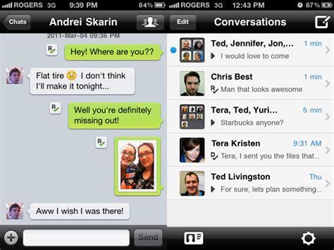 kik iphone kik messenger review smartphone application reviews