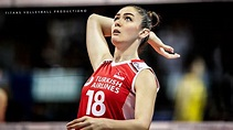 Zehra Gunes - Unbelievable Volleyball Powerful Spikes | Women's Volleyball - YouTube