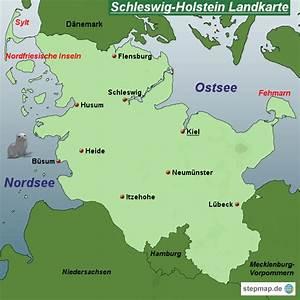 Brügge Schleswig Holstein : stepmap schleswig holstein landkarte landkarte f r deutschland ~ Orissabook.com Haus und Dekorationen
