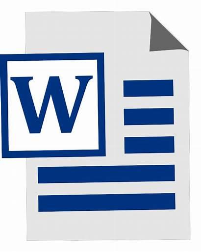 Clip Word Microsoft Cliparts Clipart Icon Document