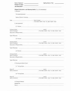 Free fill in the blank resume free resume templates for Free fill in the blank resume