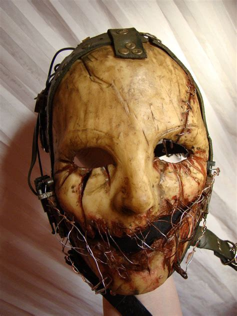 wired scarred mask pictures   images