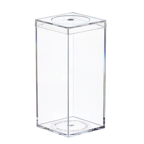 Clear Amac Boxes by Clear Flush Lid Amac Boxes The Container Store