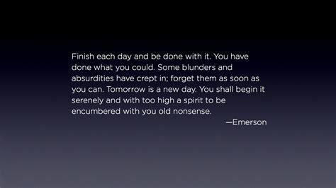 emerson  today  tomorrow tim miles