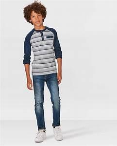 Henley shirt jungen