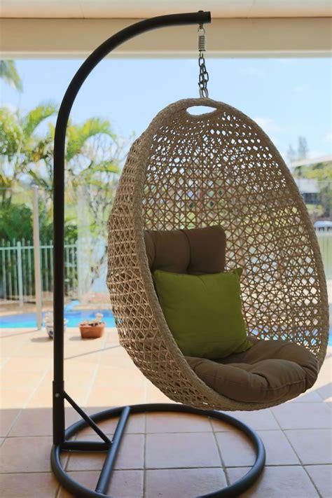 hanging egg chair  door furniture brisbane designer