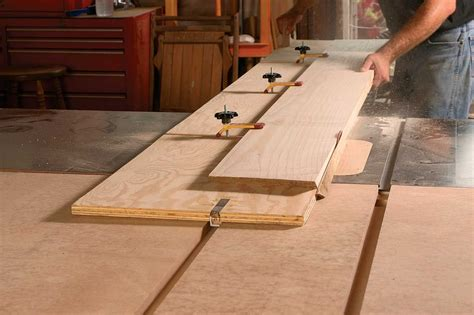 edge jointing  images woodworking jigs