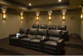 Home Theatre Seating Room For 3d Home Theater Joy Studio Design Gallery Best Design Sofa And Giraffe Texture Carpeting Modern Home Theater By Studio Space Saving Furniture For Small Spaces Modern Home Theater Ideas