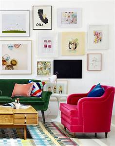 Six Tips for Hanging the Perfect Gallery Wall Apartment34