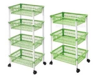 kitchen vegetable storage baskets 3 4 tier plastic kitchen storage rack fruit vegetable 6379