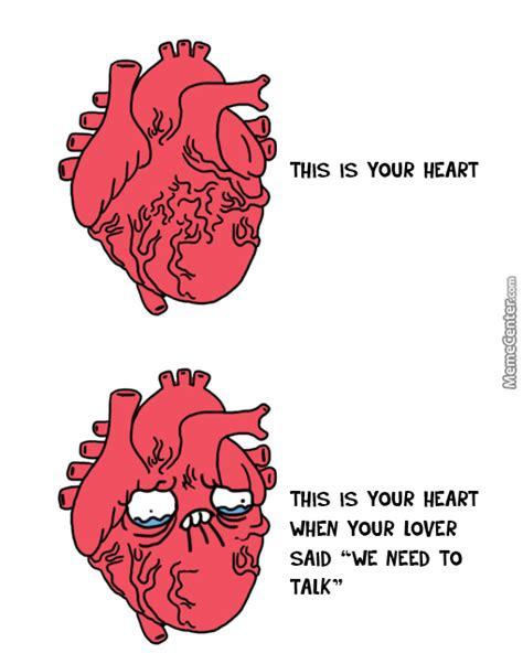 Meme Heart - shape of my heart by raze meme center