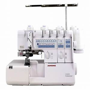Janome 1200d Serger Sewing Machine Instruction Manual