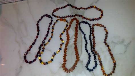 Amber Teething Necklaces Motherhood Center
