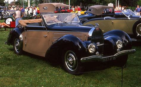 Bugatti set a new world speed record for convertibles with a scorching 254.04 mph day at the track. 1938 Bugatti Type 57C Stelvio convertible   Richard Spiegelman   Flickr