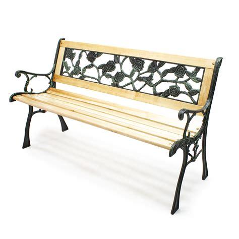 Gusseisen Und Holz by Gartenbank Parkbank Rosi Holz Gusseisen Rosendesign
