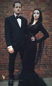 Cool Morticia and Gomez Addams Couple Costume   Costumes ...