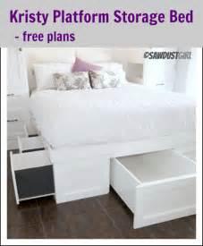 King Size Platform Bed 12 Drawers