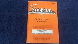 Vintage Simpson 460