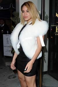 DINAH JANE HANSEN Leaves Catch LA in West Hollywood 03/12 ...