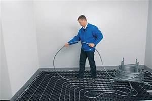 Estrich Mit Fußbodenheizung : noppensystem eine von zwei verlegearten einer fu bodenheizung ~ Eleganceandgraceweddings.com Haus und Dekorationen