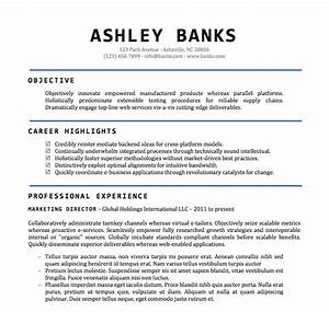word document resume template learnhowtoloseweightnet With resume format template doc