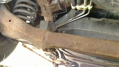 Ford Windstar Rear Axle Cracked Complaints