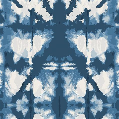 high bedding indigo blue shibori fabric by the yard navy fabric