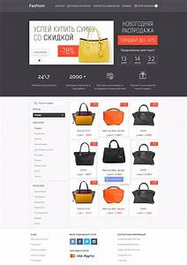 Create A Free Resume Online Ecommerce Fashion Deal Website Template Free Psd