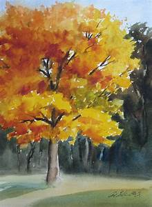 Pat Fiorello - Art Elevates Life: Painting Fall Trees