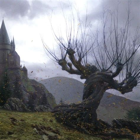 creating  whomping willow tree required close