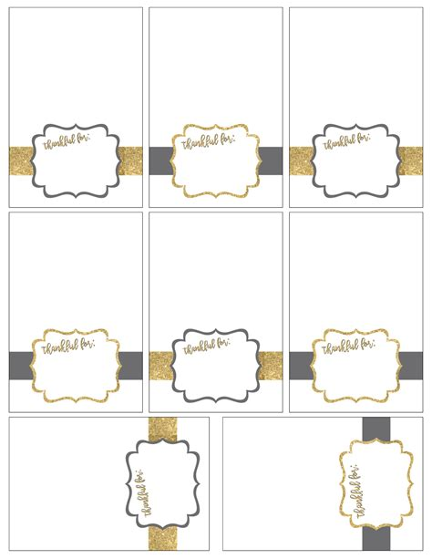 printable thanksgiving place cards paper trail design