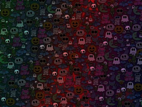 My Free Wallpapers - Abstract Wallpaper : Cute Halloween