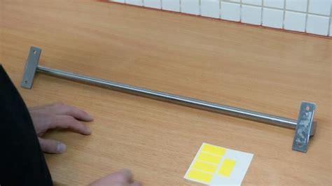 Küchenreling Zum Kleben by K 252 Chenreling Ohne Bohren Befestigen Tipps Und Tricks