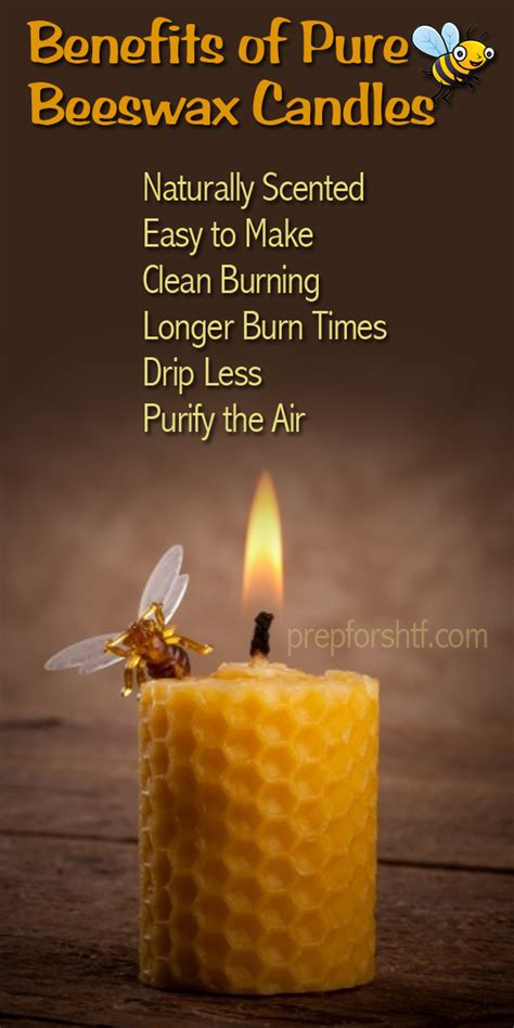 Benefits of Pure Beeswax Candles | Survival