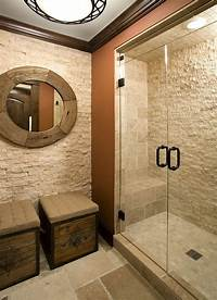 marble tile bathroom 30 Exquisite and Inspired Bathrooms with Stone Walls