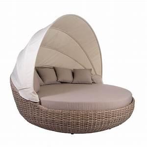 Lounge Sofa Mit Dach : liegeinsel atlantic white pepper gartenlounge sonneninsel 360 drehbar garten ebay ~ Bigdaddyawards.com Haus und Dekorationen