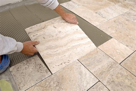 installing floor tile installing sealing and protecting marble tile flooring