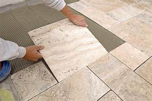 Installing sealing and protecting marble tile flooring for How to install stone tile flooring