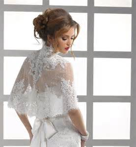 bridesmaids invitation high neck button back lace jacket bolero coat bridal